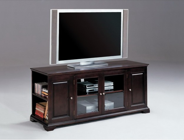 Discount Furniture Lancaster Ohio Store > Entertainment Stands > Harris Espresso Entertainment Console