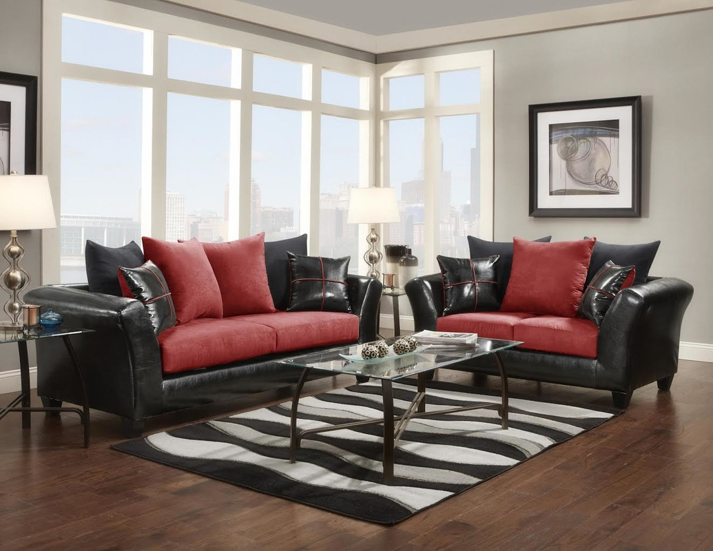 7pc complete living room package deal for Complete living room packages