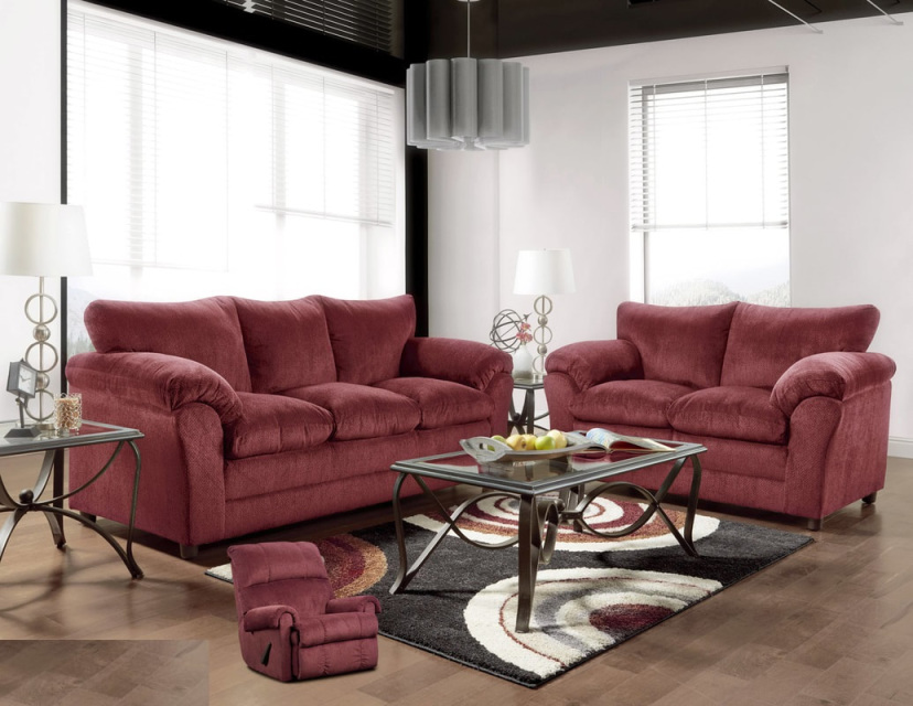 7pc Complete Living Room Package Deal