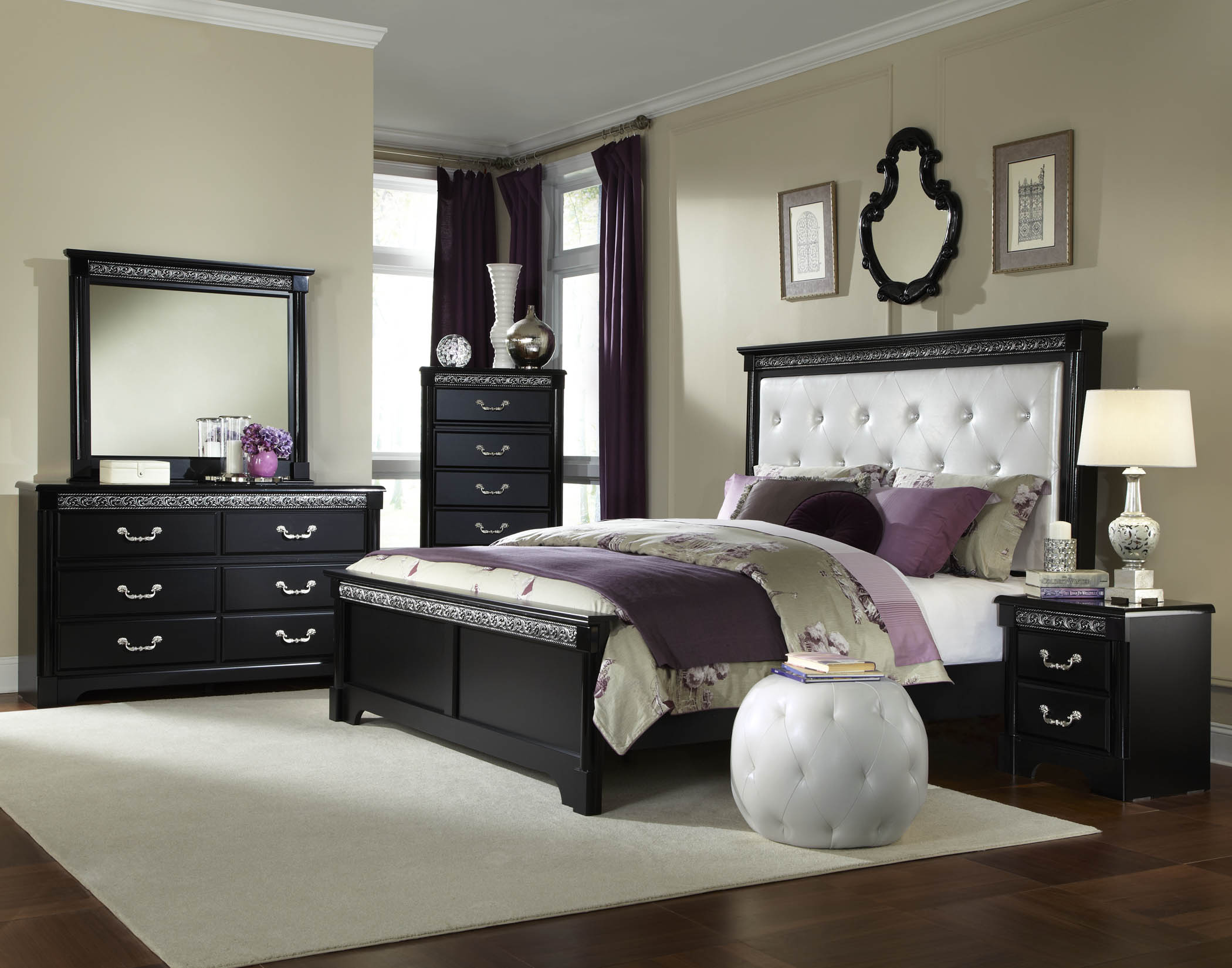 store adult furniture venetian black bedroom suite