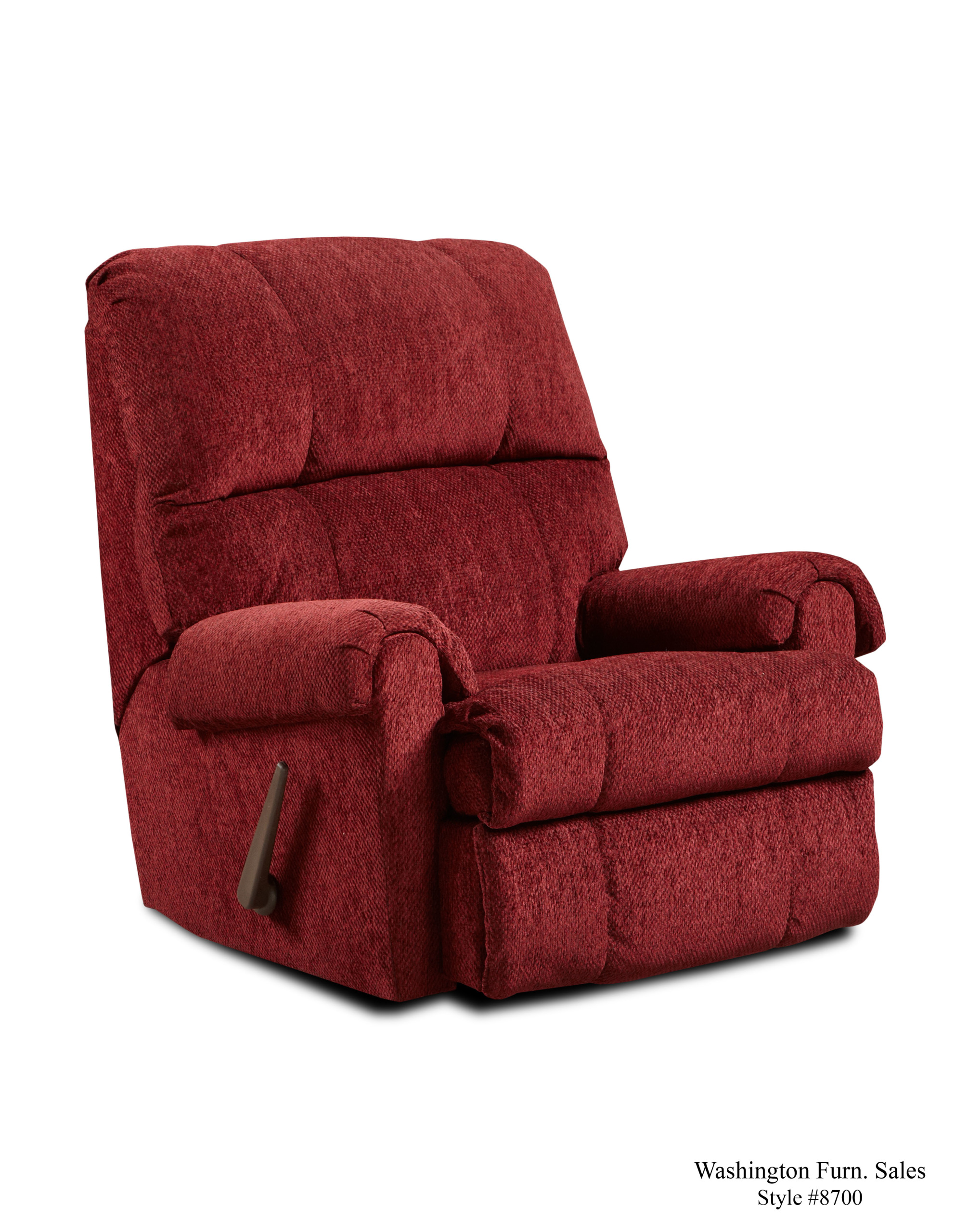 Discount Furniture Lancaster Ohio Store > Recliners > Tahoe Burgundy Recliner