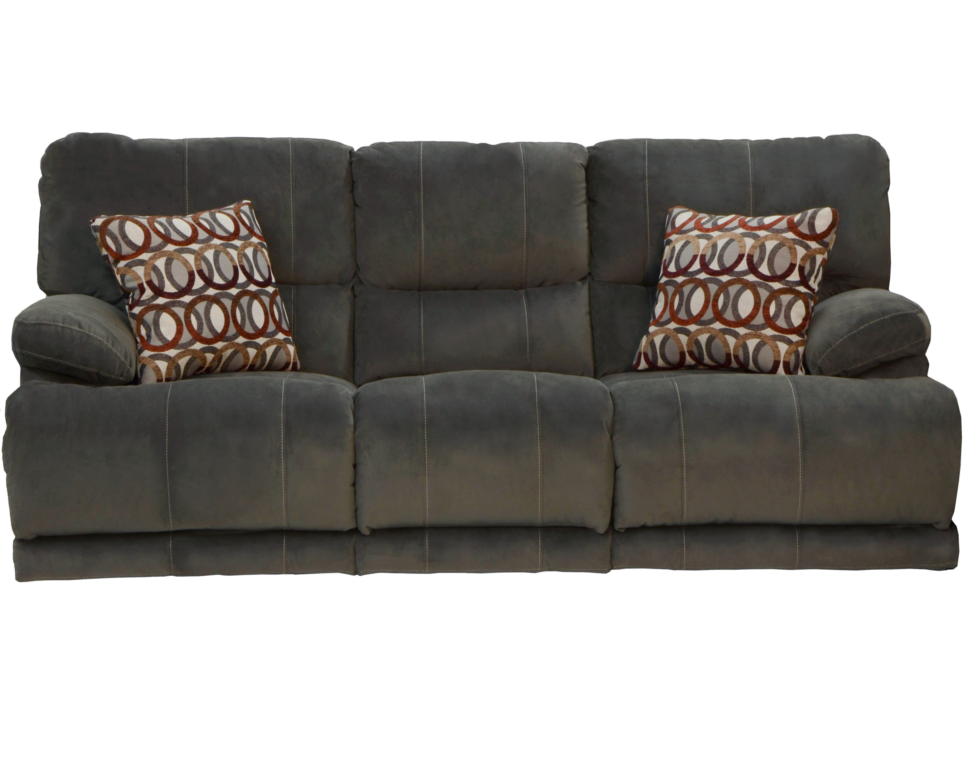 Riley Reclining Sofa Loveseat With Cup Holders Storage 3 Colors Available